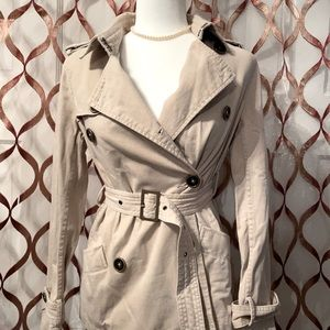 Old navy trench jacket, Small